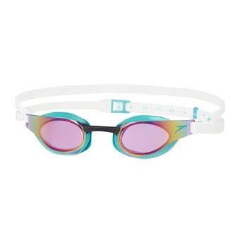 Gafas de natación FASTSKIN ELITE MIRROR green/purple