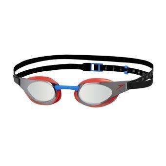 Gafas de natación FASTSKIN ELITE MIRROR red/silver
