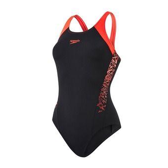 Bañador mujer BOOM SPLICE MUSCLEBACK black/red