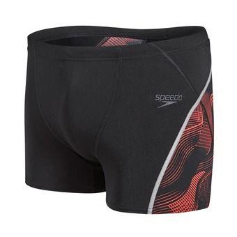 Boxer de bain homme FIT GRAPHIC black/red