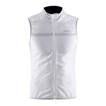 Veste sans manches homme POIDS PLUME blanc/platine