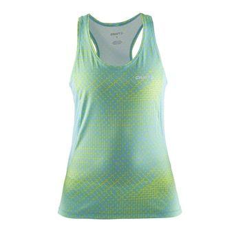 Camiseta de tirantes mujer FOCUS 2.0 stir sea/sea