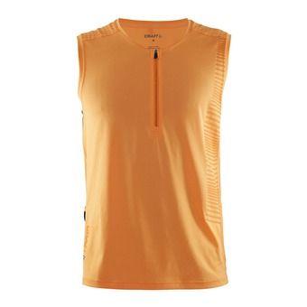 Camiseta de tirantes hombre GRIT sprint/flourange