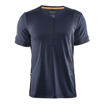 Maillot MC 1/2 zip homme GRIT gravel/sprint