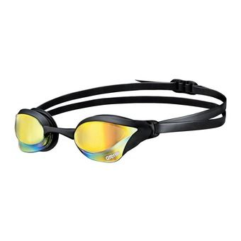 Lunettes de natation COBRA CORE MIRROR yellow/revo black