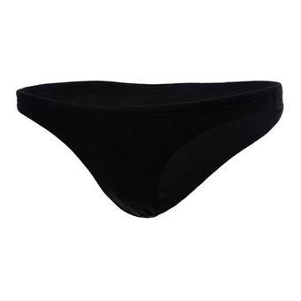 Bas de maillot femme SOLID black/white