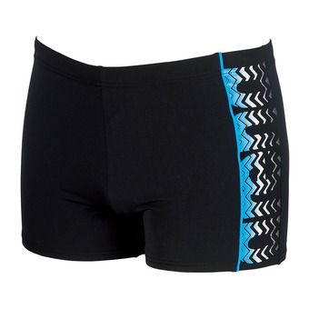 Boxer homme FLOATER black/turquoise