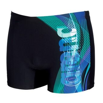 Boxer homme FUEGO black/turquoise