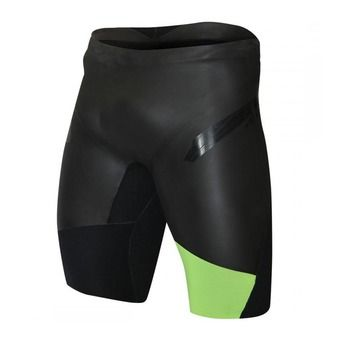 Bañador tipo jammer neopreno TRAIN black/fluo