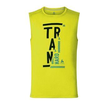 Camiseta de tirantes mujer hombre RAPTOR safety yellow