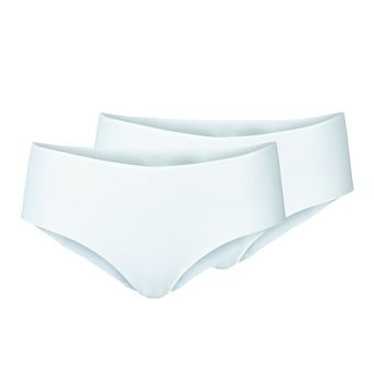 Lot de 2 shortys femme THE INVISIBLES white