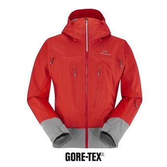 Chaqueta hombre COMMODORE ACTIVE GTX rouge eider/arctic grey