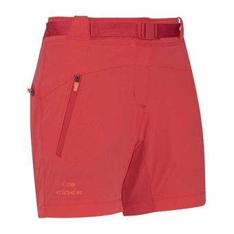 Short mujer FLEX spicy coral