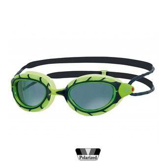 Gafas de natación polarizadas PREDATOR SMOKED green/black/smoke