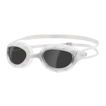 Lunettes de natation PREDATOR white/white/smoke