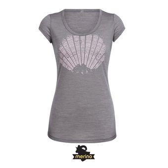 Tee-shirt MC femme SPHERIA sunrays/bracken hthr