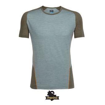 Camiseta hombre STRIKE shale hthr/kona/bonfire