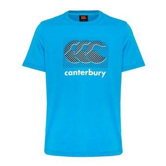 Camiseta hombre CCC LOGO blue danube