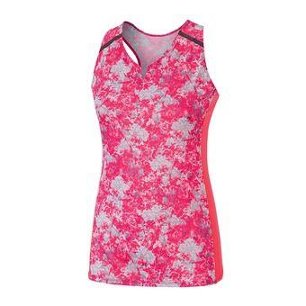 Camiseta de tirantes mujer PREMIUM AERO pink/griffin