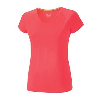 Maillot MC femme ACTIVE diva pink