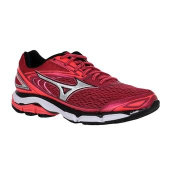 Zapatillas running mujer WAVE INSPIRE 13 persian red/silver/black