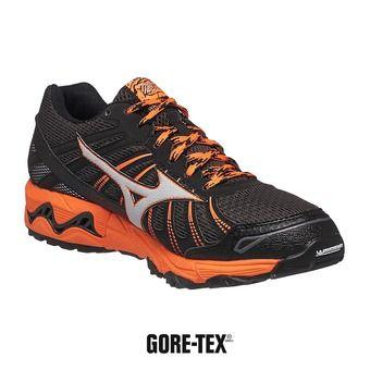 Chaussures trail homme WAVE MUJIN 3 GTX darkshadow/silver/clown fish