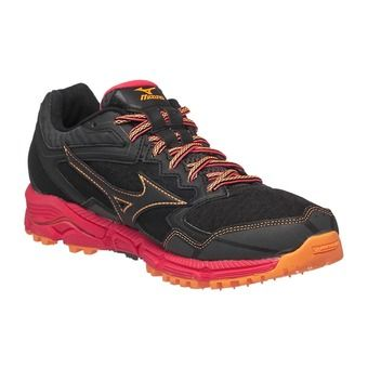 Chaussures trail femme WAVE DAICHI 2 black/black/diva pink