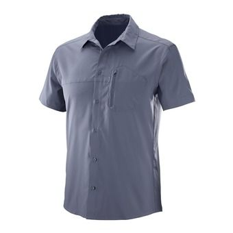 Chemise MC homme RADIANT STRETCH ombre blue