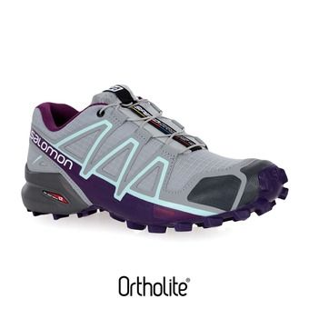 Chaussures trail femme SPEEDCROSS 4 quarry/acai/fair aqua