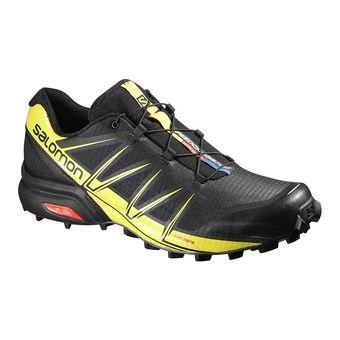 huge selection of 86cdb f9cd5 ... salomon. chaussures trail homme speedcross 4 pro black black corona  yellow ...