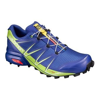 Zapatillas trail hombre SPEEDCROSS 4 PRO surf the web/lime green/black