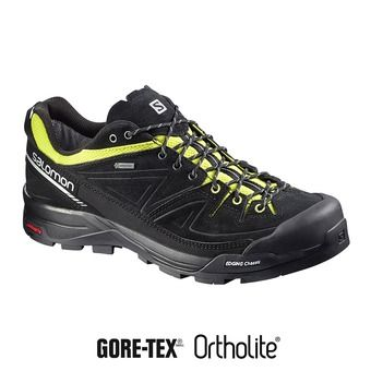 Chaussures alpinisme homme X ALP LTR GTX® black/gecko greeen/aluminium