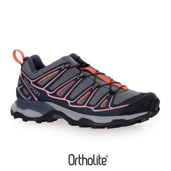Chaussures randonnée femme X ULTRA 2 quiet shade/ombre blue/blush
