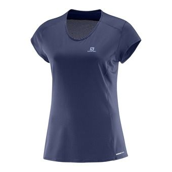 Camiseta mujer COMET PLUS medieval blue