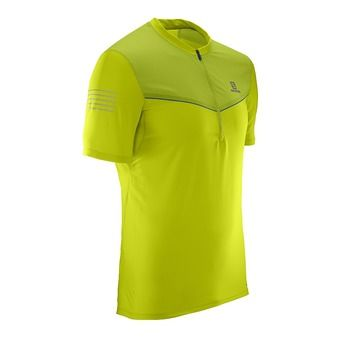 Camiseta hombre FAST WING HZ lime punch/lime green