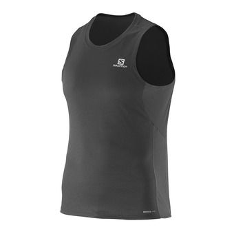 Camiseta sin mangas hombre AGILE black