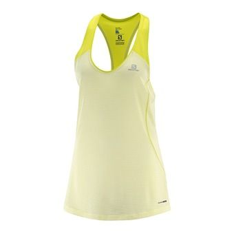 Camiseta de tirantes mujer ELEVATE wax yellow