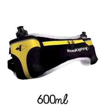 Cinturón de hidratación TRAIL MARATHON EVO + 2 botellas negro/amarillo