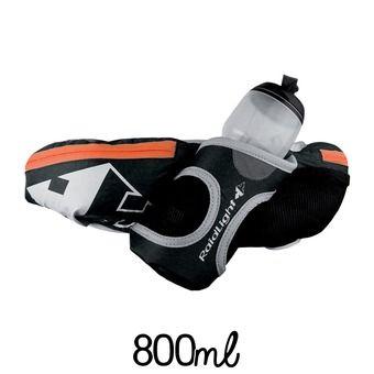 Cinturón de hidratación FAST 800 + 1 botella negro/pimienta