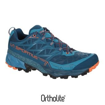Chaussures trail homme AKYRA ocean/flame