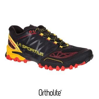 Chaussures trail homme BUSHIDO black/yellow