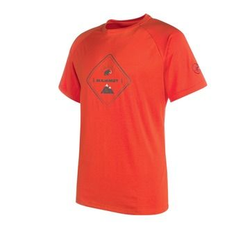 Camiseta hombre TROVAT ADVANCED dark orange