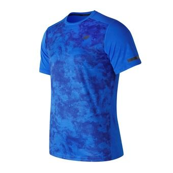 Maillot MC homme MAX INTENSITY electric blue print
