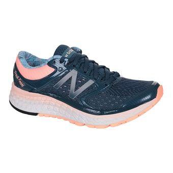 Zapatillas running mujer 1080 V7 blue/pink