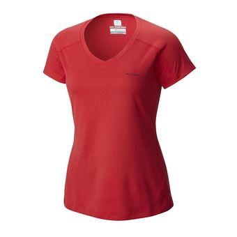 Camiseta mujer ZERO RULES™ red camellia