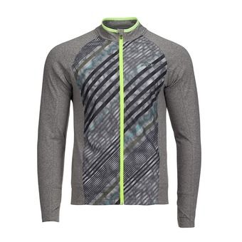 Chaqueta hombre DAWN PATROL graphite heather/high tide