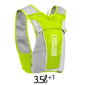 Gilet d'hydratation 3,5+1L ULTRA PRO flask lime punch/silver