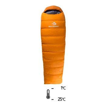 Saco de dormir -1°C/-25°C TREK Tk II naranja/gris