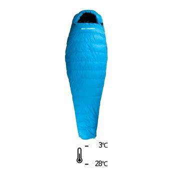 Saco de dormir -3°C/-28°C TALUS Ts II azul/negro