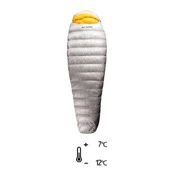 Saco de dormir 7°C/-12°C SPARK Sp II gris/amarillo